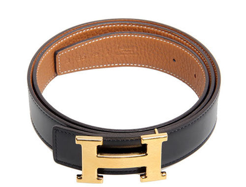 fake vs Authentic Hermes Constance Goldtone H Buckle Belt 75 Reversible