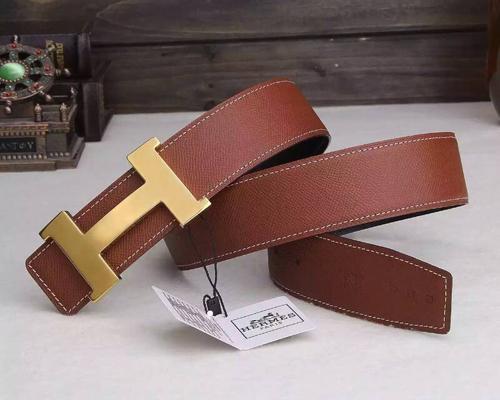 Replica Hermes Constance reversible Belt in Orange color Togo Leather replica Hermes Belt singapore