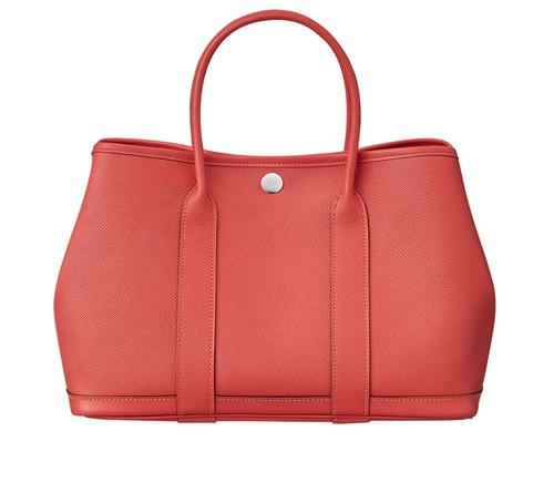 Hermes Garden Party Bag rose Jaipur