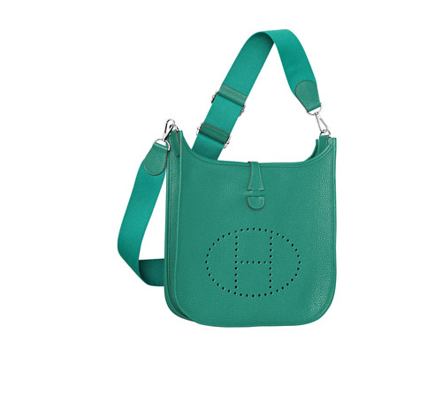 hermes Evelyne handbags malachite