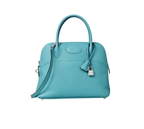 hermes bolide bags Saint-Cyr blue