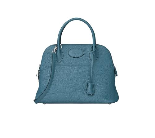 hermes bolide bags bleu agate