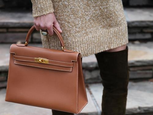 hermes kelly bag brown