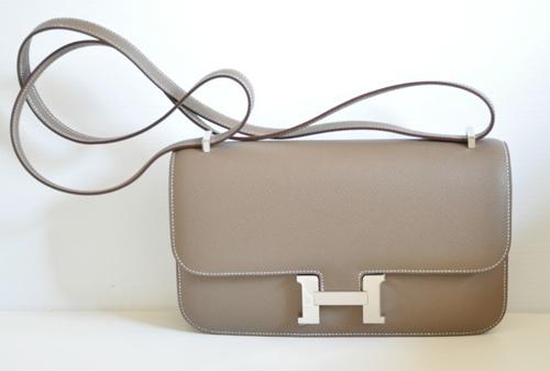 replica Hermes Etoupe Constance Elan Bag