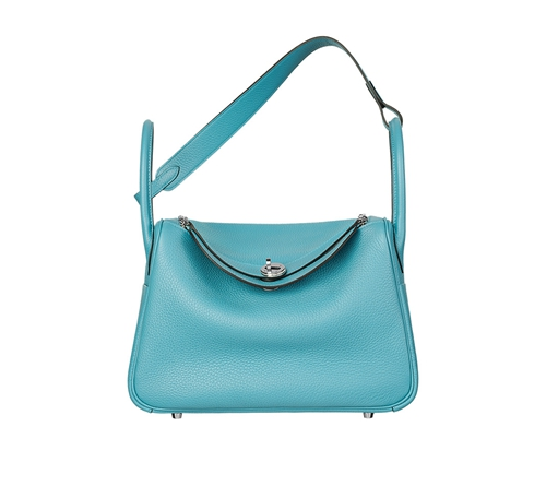 womens hermes lindy handbags Saint-Cyr blue