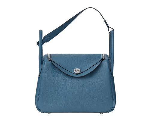 womens hermes lindy handbags bleu agate gris mouette