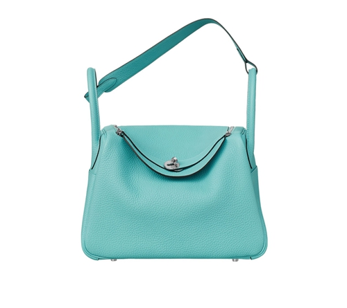 womens hermes lindy handbags bleu atoll
