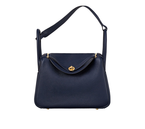 womens hermes lindy handbags bleu nuit