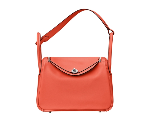 womens hermes lindy handbags orange poppy