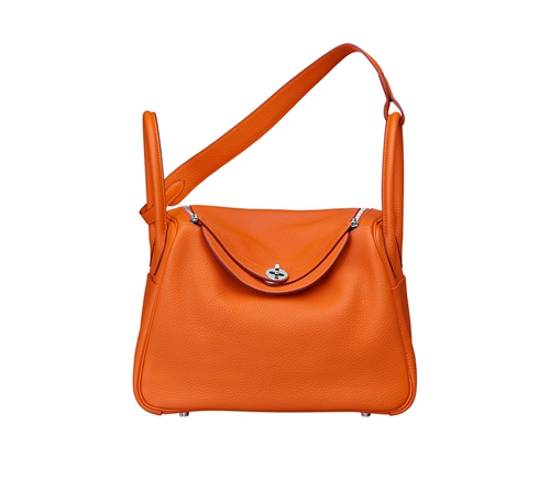 womens hermes lindy handbags orange